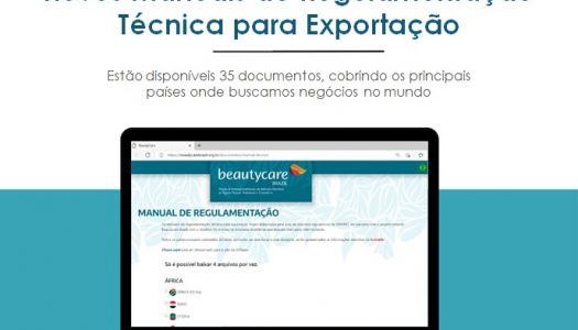 ABIHPEC e Beautycare Brazil lançam novos Manuais  de Regulamentação Técnica para Exportação