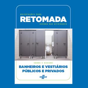 Guia de Retomada – Banheiros e Vestiários Públicos e Privados