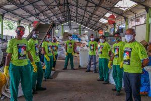 """17 de maio, Dia Internacional da Reciclagem e de celebrar as conquistas do Programa """"Dê a Mão para o Futuro"""""""